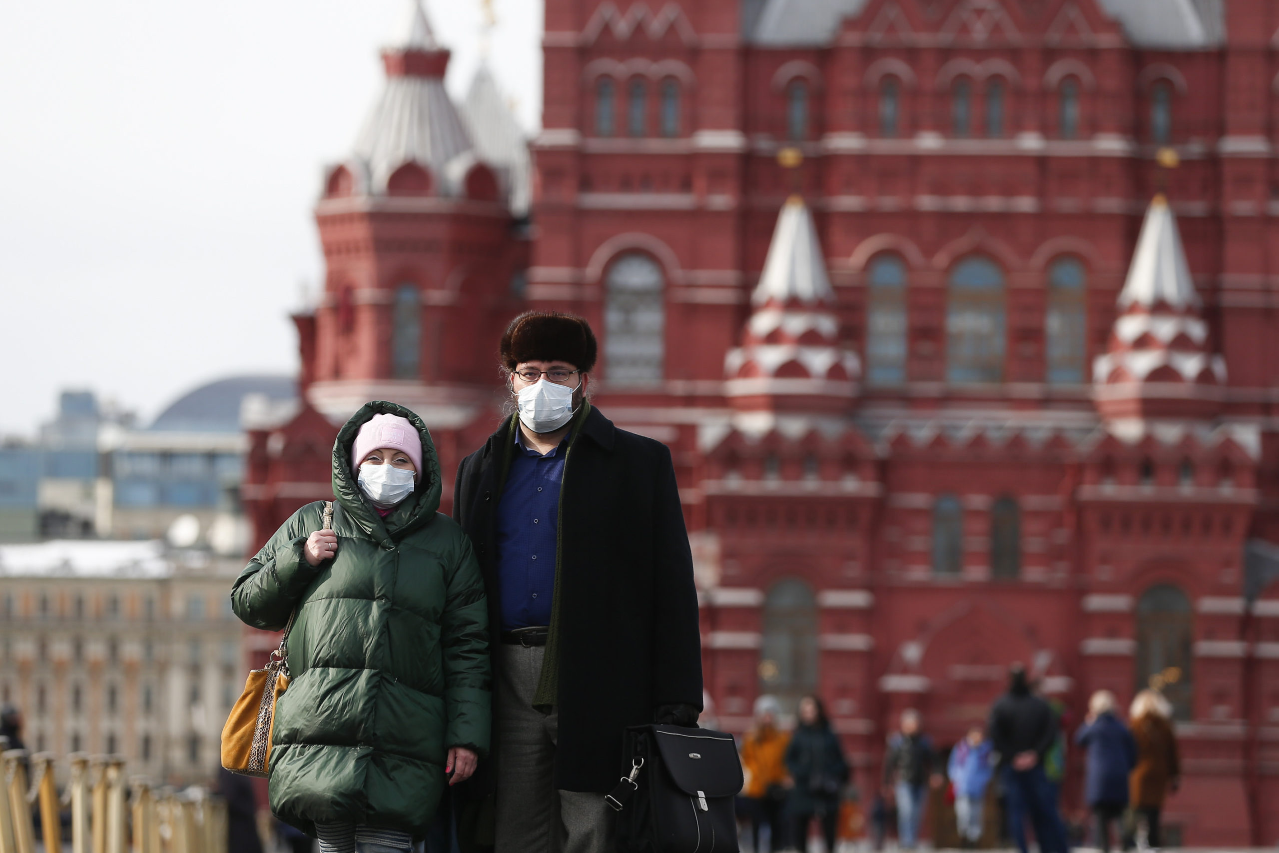 Tourists in Russia during COVID-19 outbreak